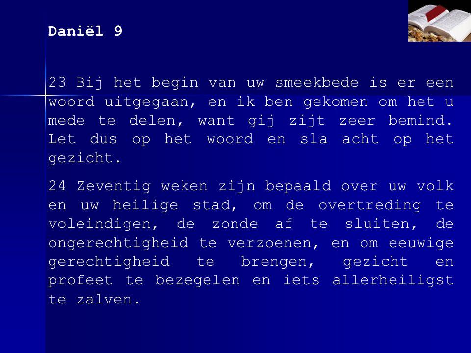 Daniël 9 26....