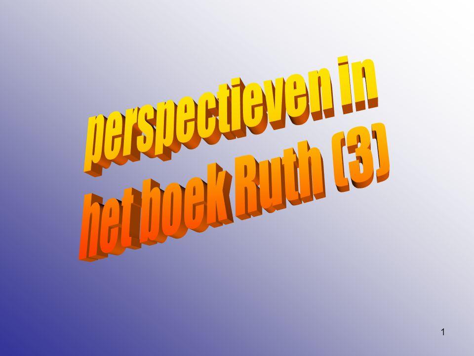 2 De voorgaande hoofdstukken… Bethlehem… armoede… Moab…. terugkeer…