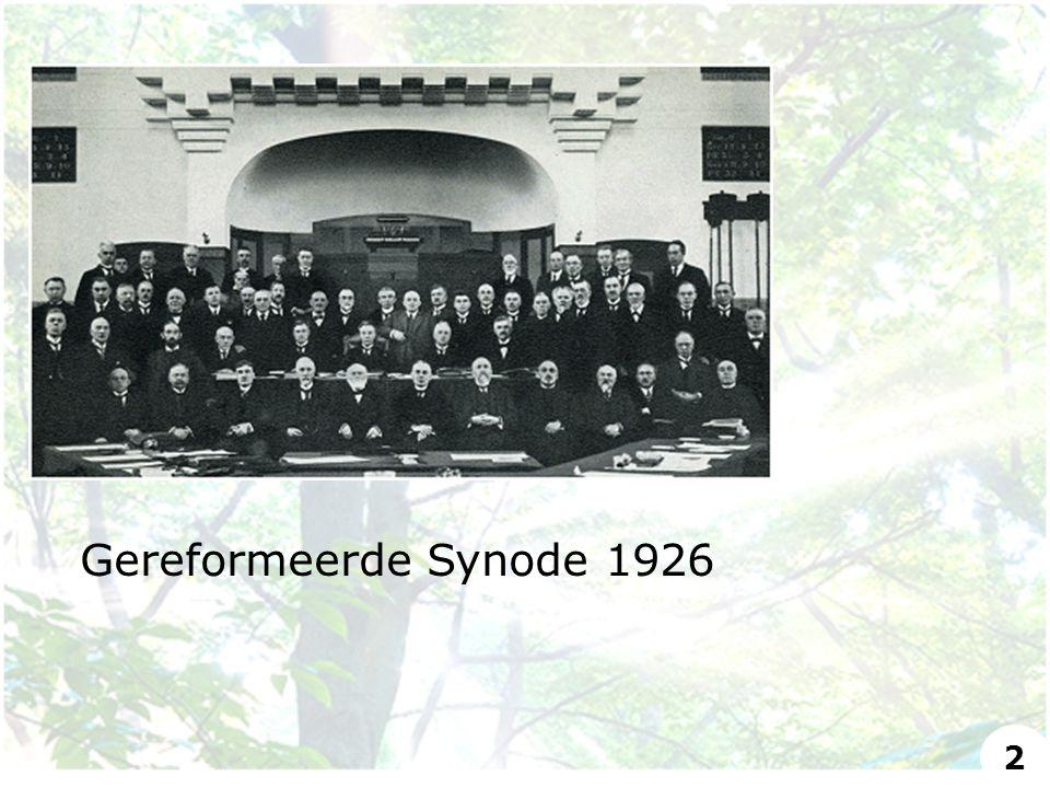 Gereformeerde Synode 1926 2