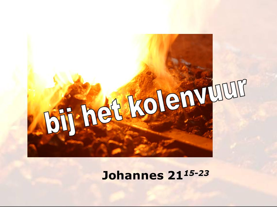 Johannes 21 15-23