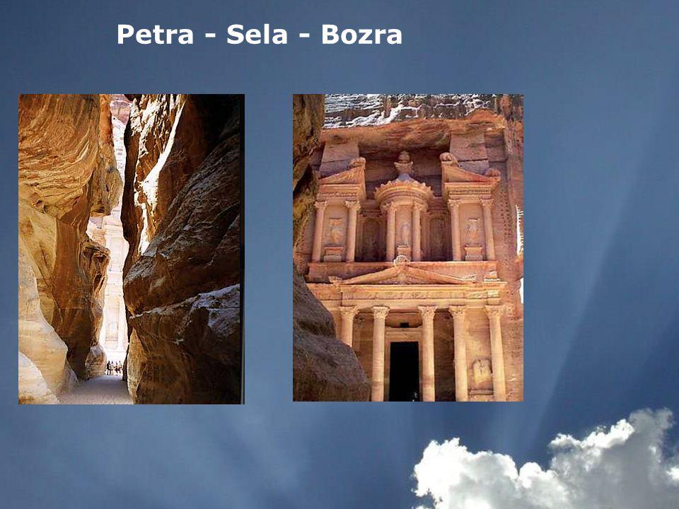 Petra - Sela - Bozra