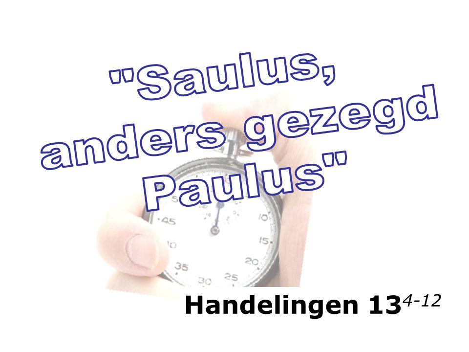 Handelingen 13 4-12
