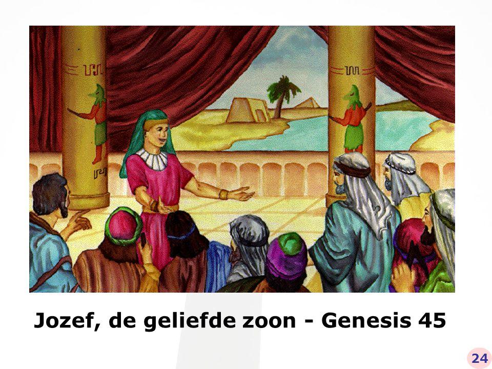Jozef, de geliefde zoon - Genesis 45 24