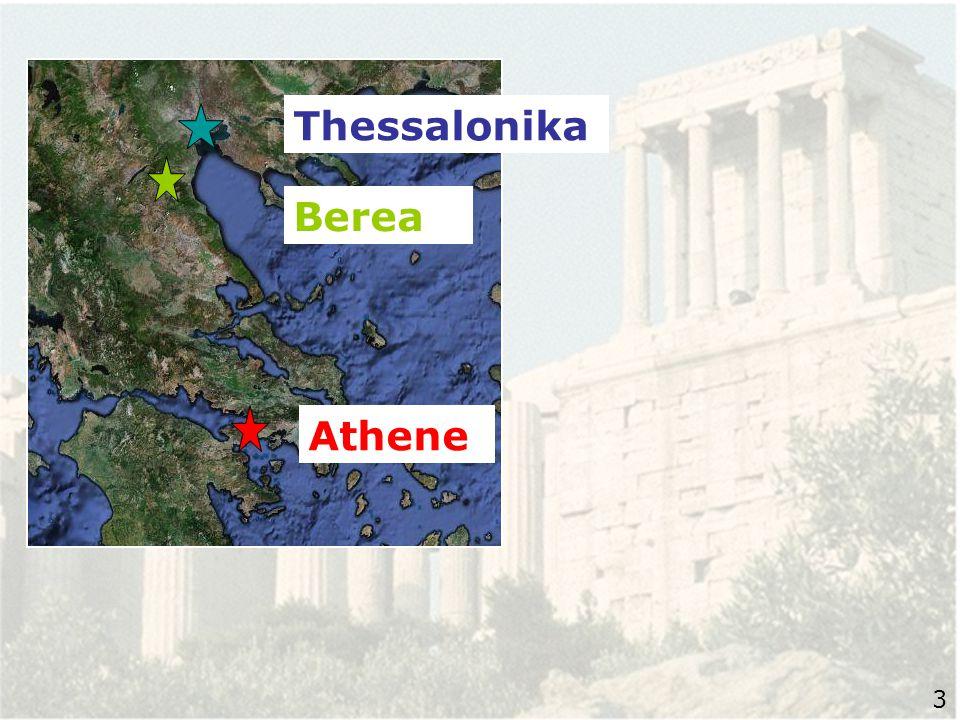 16 En terwijl Paulus te Athene op hen wachtte… 4