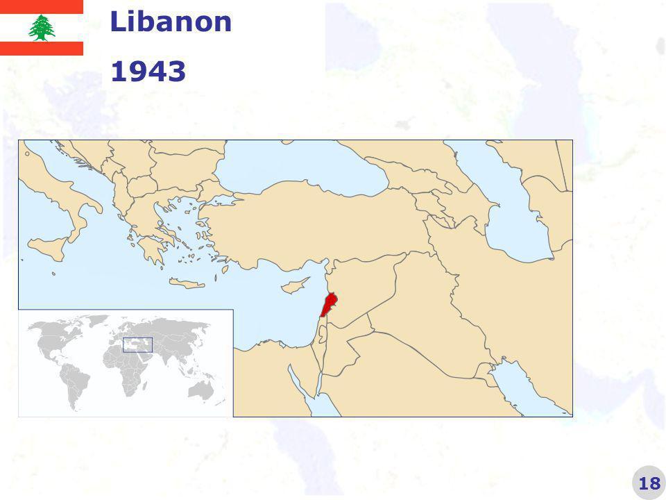 Libanon 1943 18