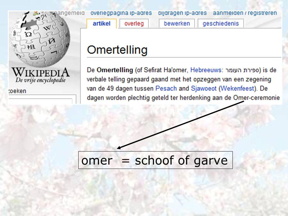 omer = schoof of garve