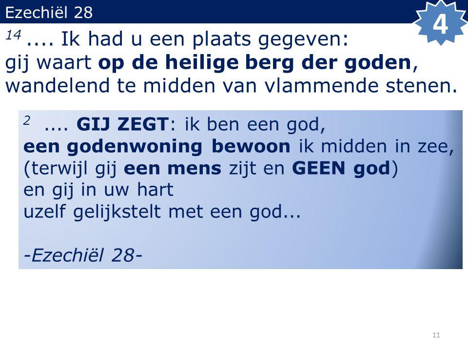 Ezechiël 28 14....