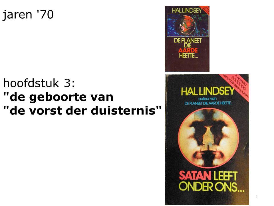 jaren 70 hoofdstuk 3: de geboorte van de vorst der duisternis 2