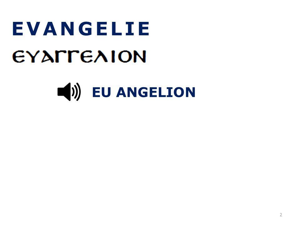 EVANGELIE EU ANGELION 2