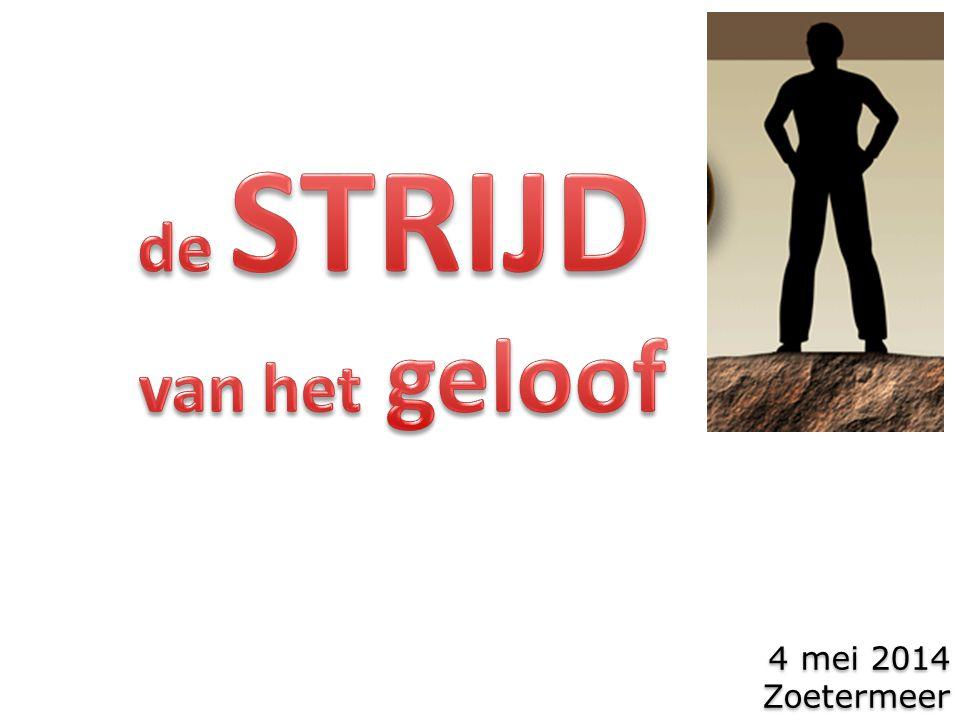4 mei 2014 Zoetermeer 4 mei 2014 Zoetermeer