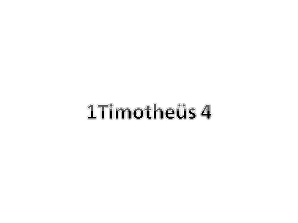 1Timotheüs 4 9 Dit is een betrouwbaar woord en alle aanneming waard.