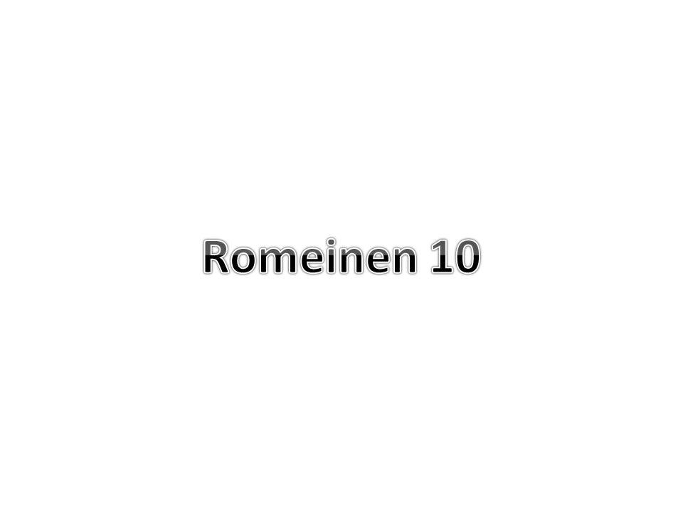 Romeinen 10 8 Maar wat zegt zij.