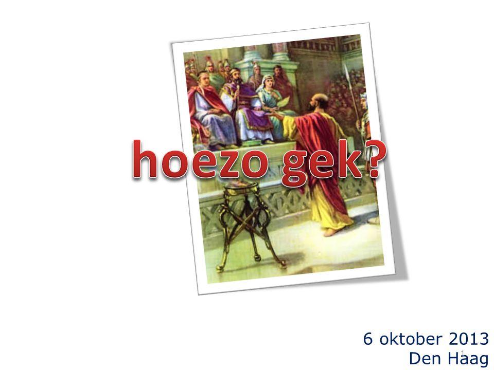 6 oktober 2013 Den Haag 1