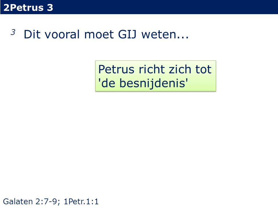 2Petrus 3 3...