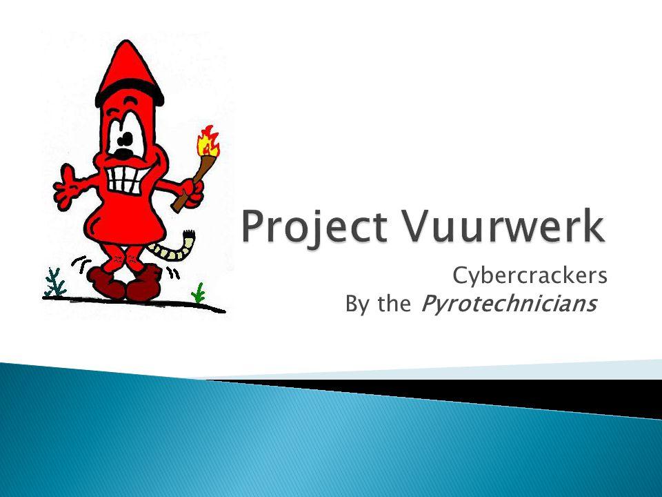  Projectgroep  Rollenverdeling  De vuurwerkwinkel  Entiteiten  Functieverdeling  Vragen van de klant
