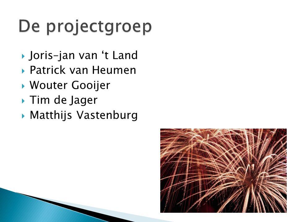  Joris–jan van 't Land  Patrick van Heumen  Wouter Gooijer  Tim de Jager  Matthijs Vastenburg