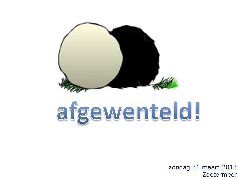 zondag 31 maart 2013 Zoetermeer 1