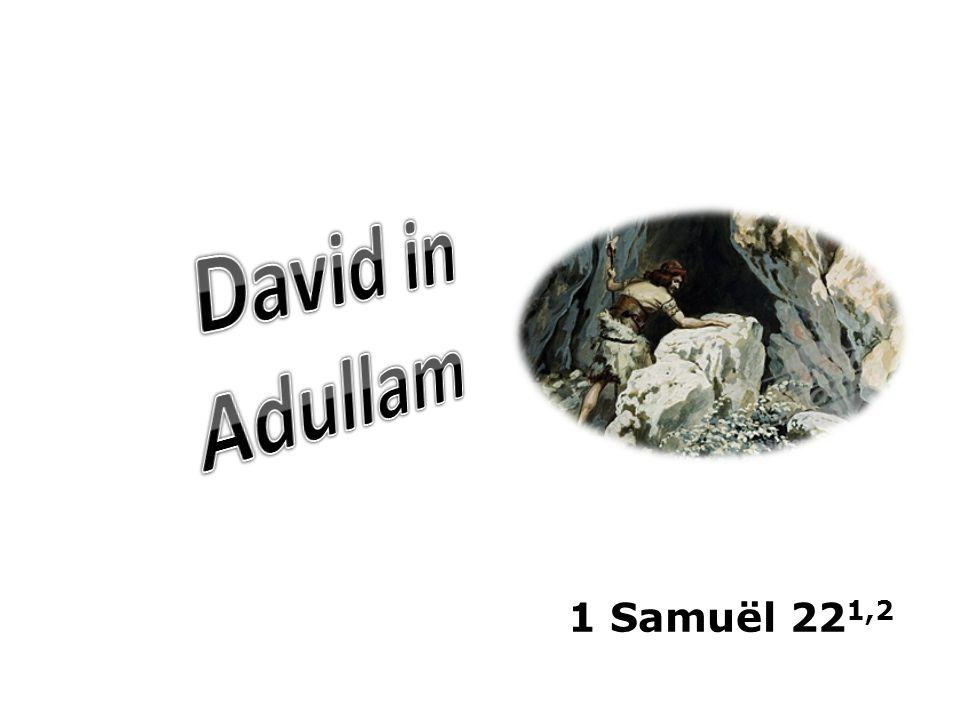 1 Samuël 22 1,2