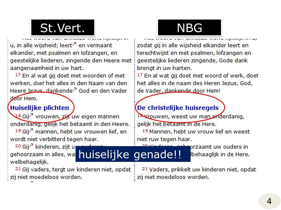 St.Vert. NBG 4 huiselijke genade!!