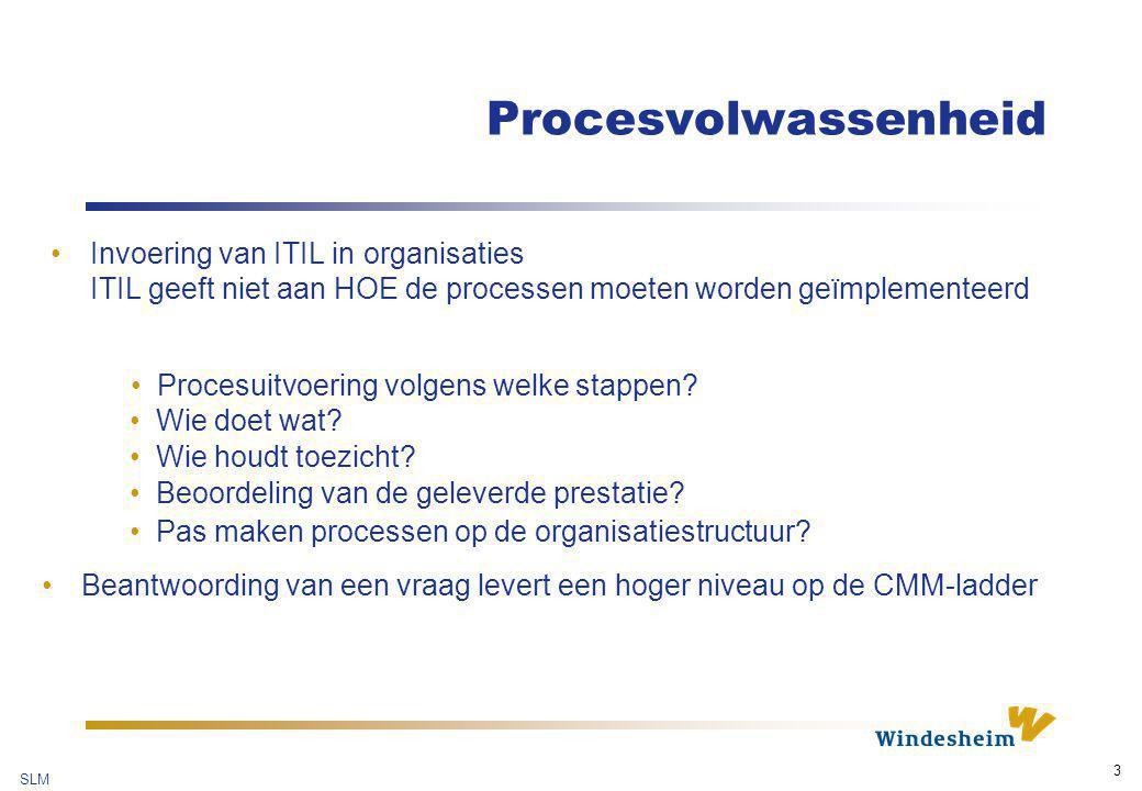SLM 4 Wat is CMM ® .