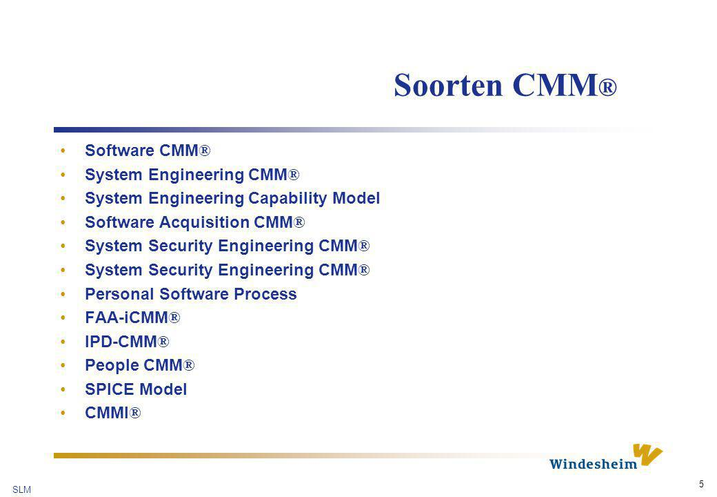 SLM 16 Behoeften versus mogelijkheden De behoeften van de organisatie De mogelijkheden van het pakket MD fit S M: De tekortkomingen van het pakket D: De behoeftedekking van het pakket S: Het surplus van het pakket