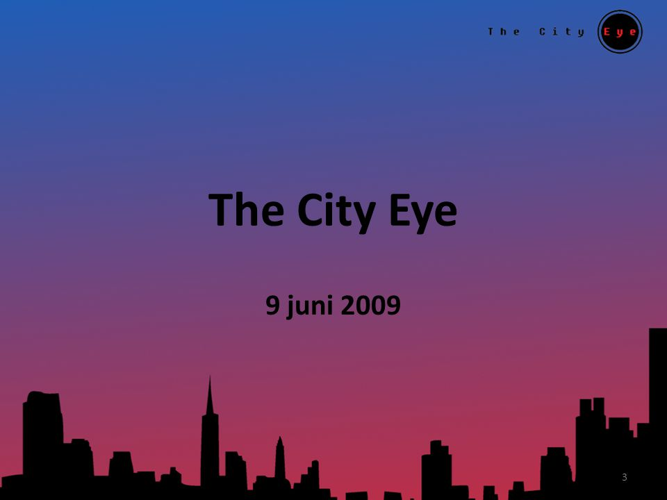 The City Eye 9 juni 2009 3