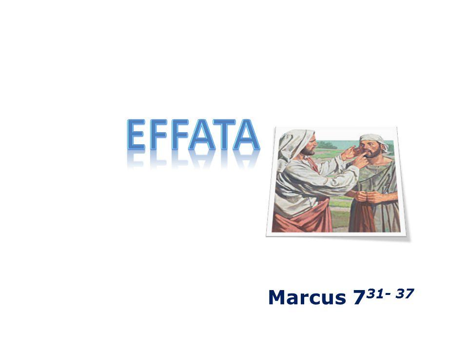 Marcus 7 31- 37