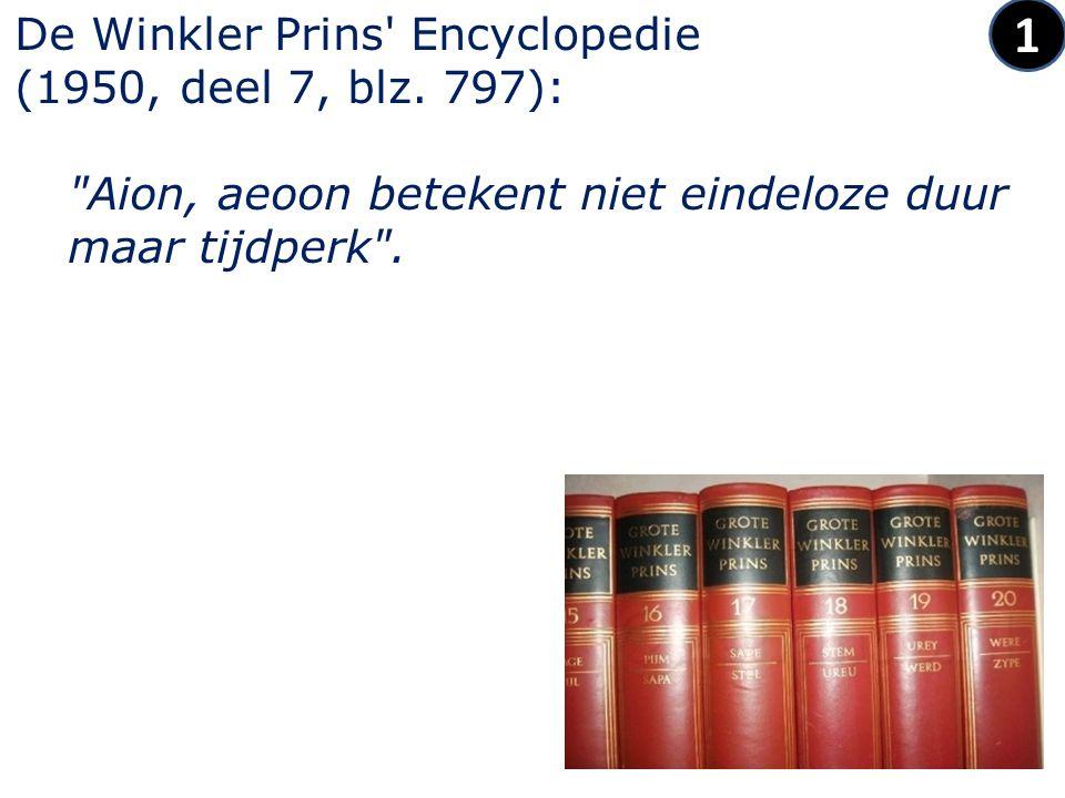 De Winkler Prins Encyclopedie (1950, deel 7, blz.