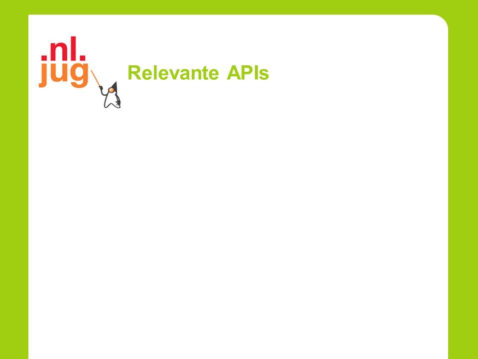 Relevante APIs