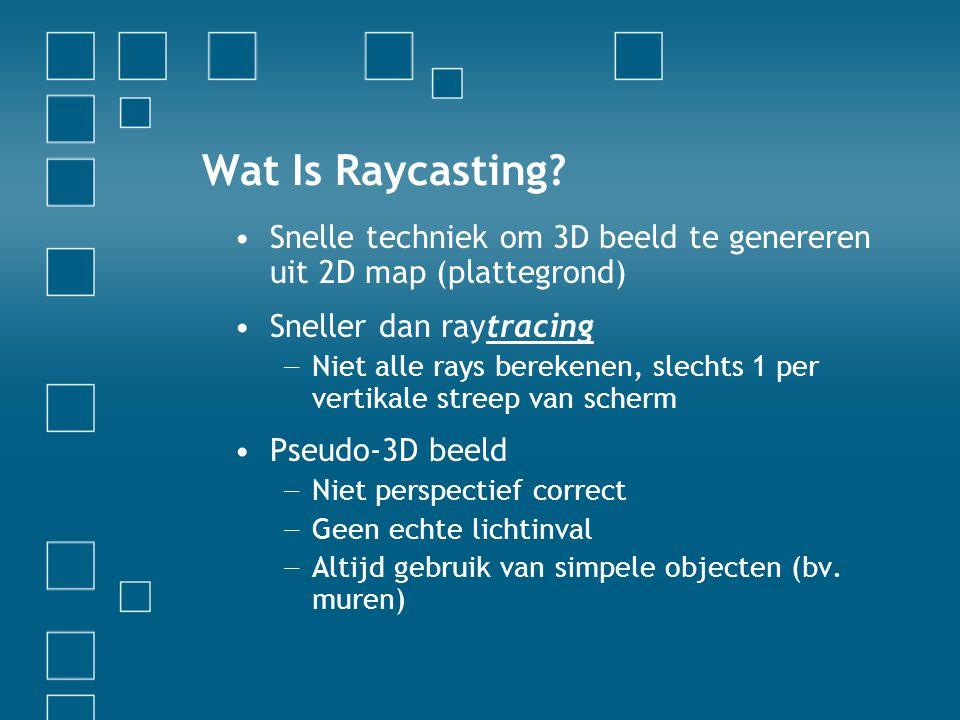 Wat Is Raycasting.