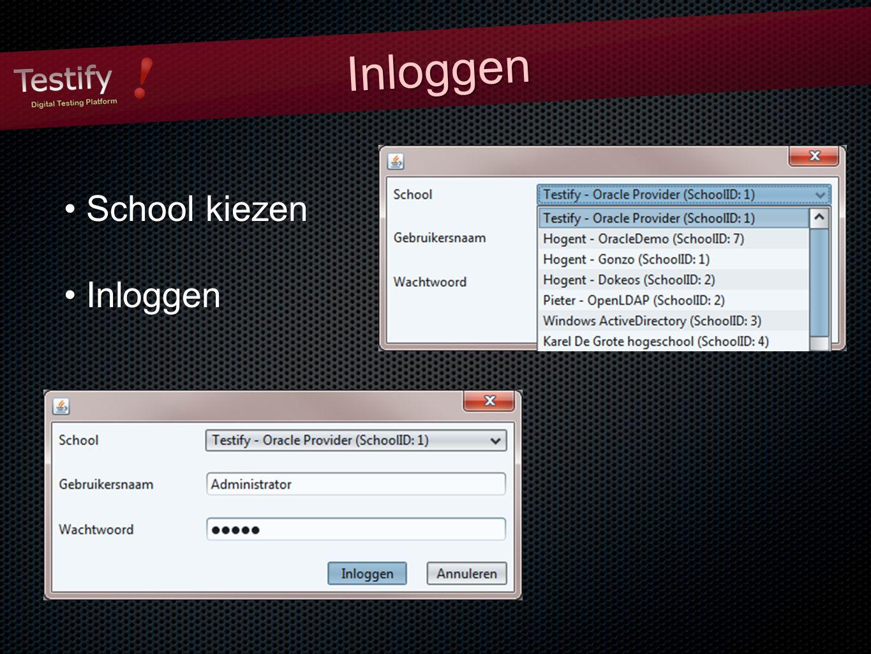 InloggenInloggen School kiezen School kiezen Inloggen Inloggen
