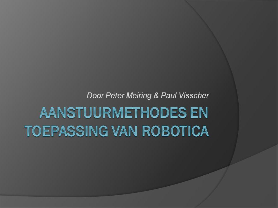 Inleiding  Interesse in techniek  Onderzoek naar aanstuurmethodes  Voor- en nadelen  Eigen robotarm