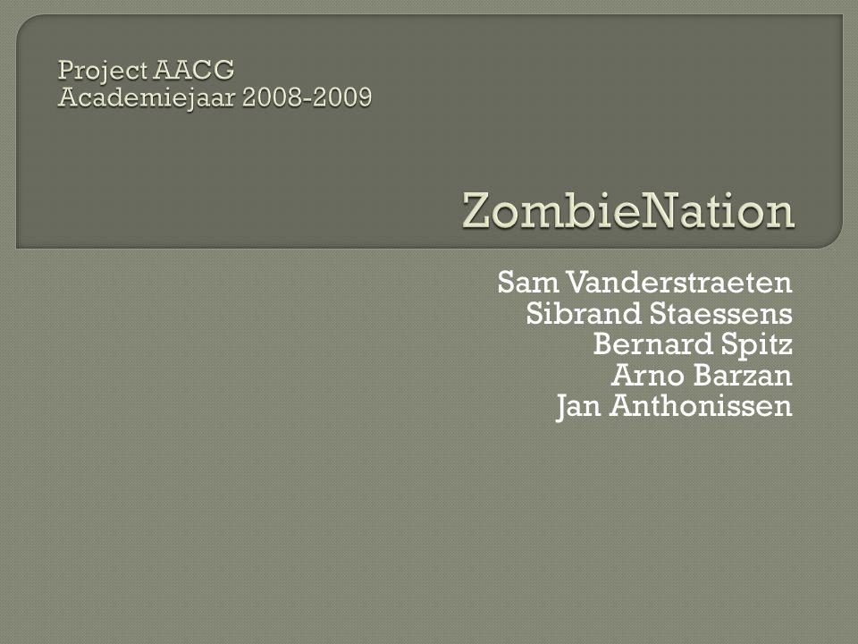 Sam Vanderstraeten Sibrand Staessens Bernard Spitz Arno Barzan Jan Anthonissen