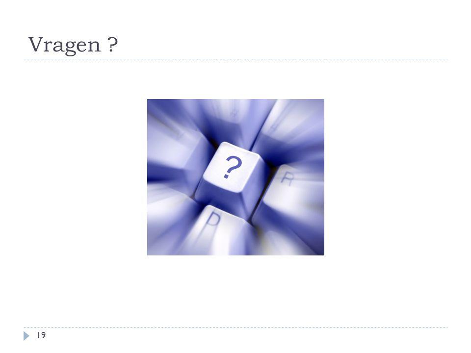 Vragen 19