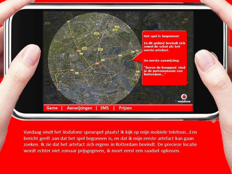 Vandaag vindt het Vodafone speurspel plaats.