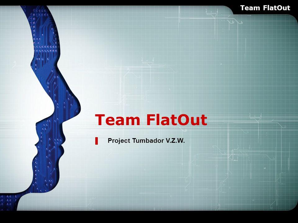 LOGO Team FlatOut Project Tumbador V.Z.W. Team FlatOut