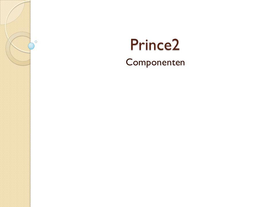 Prince2 Componenten