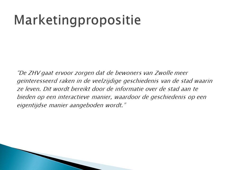 De ZHV gaat ervoor zorgen dat de bewoners van Zwolle meer geïnteresseerd raken in de veelzijdige geschiedenis van de stad waarin ze leven.