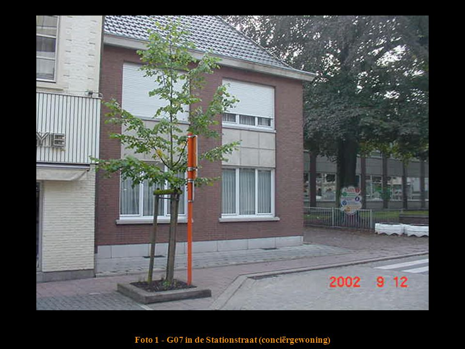 Foto 1 - G07 in de Stationstraat (conciërgewoning)