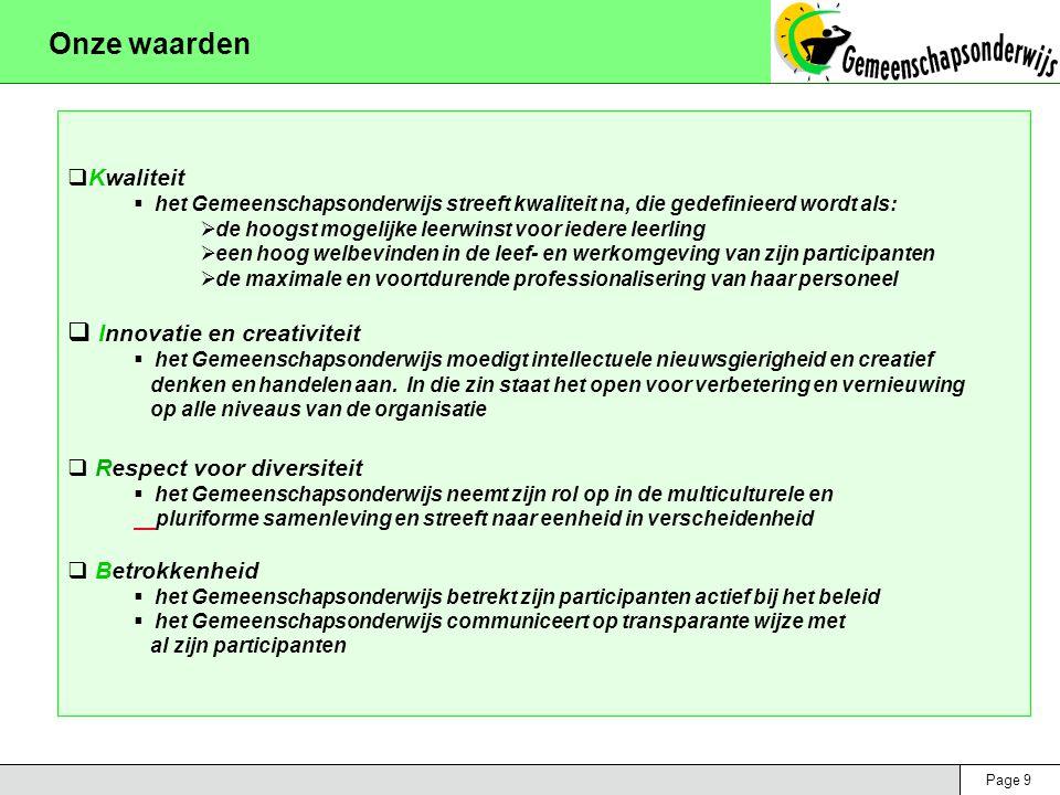 Page 70 Functionele doelstellingen 2003-2007 Organisatiedomein 7: facilitair beheer Doelstelling  Een professionele ondersteuning van de schoolactiviteiten realiseren  Dit op een efficiënte wijze doen met het oog op een betere middelenbeheersing