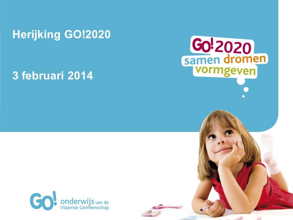 Herijking GO!2020 3 februari 2014