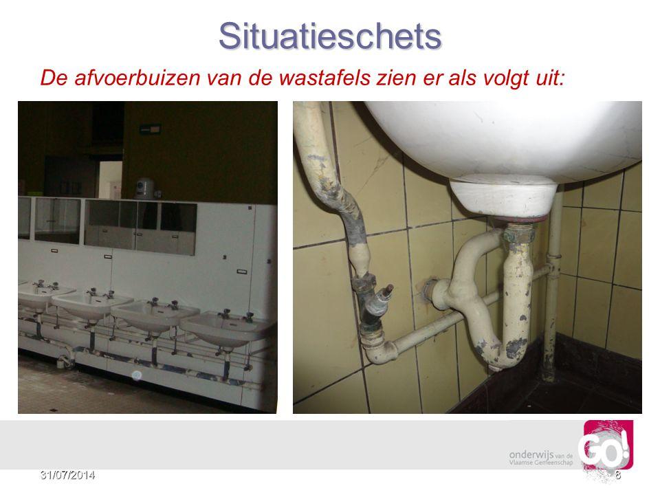 731/07/2014 Situatieschets De kruipkelder ziet er als volgt uit: