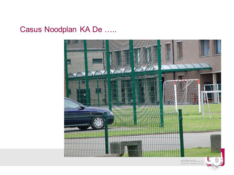 Casus Noodplan KA De …..