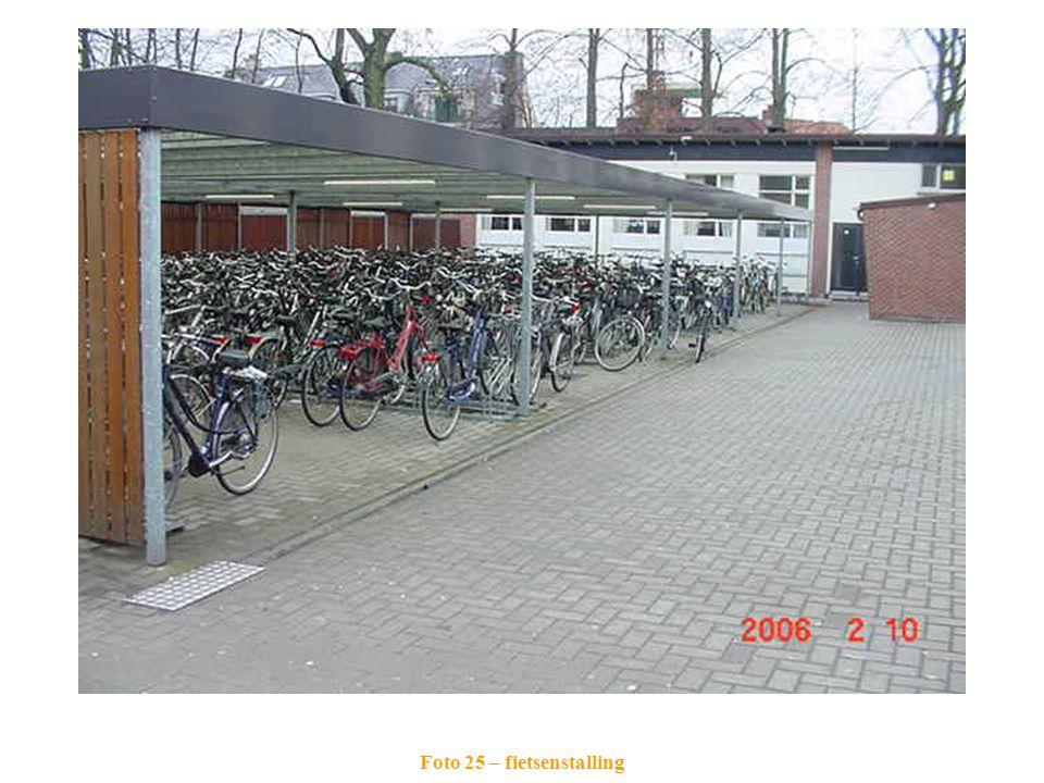 Foto 25 – fietsenstalling