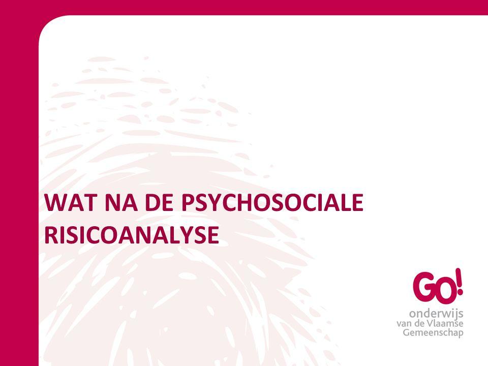 WAT NA DE PSYCHOSOCIALE RISICOANALYSE