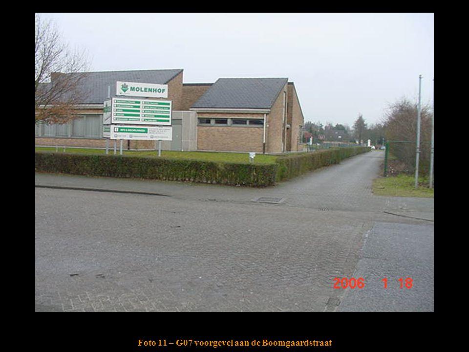 Foto 11 – G07 voorgevel aan de Boomgaardstraat