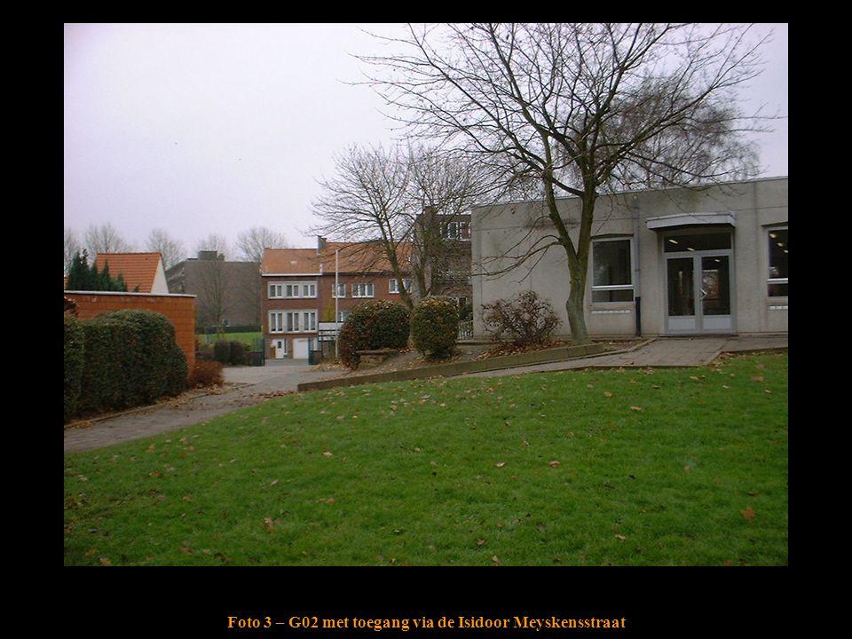 Foto 3 – G02 met toegang via de Isidoor Meyskensstraat