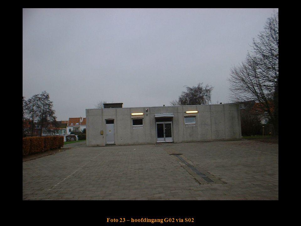 Foto 23 – hoofdingang G02 via S02