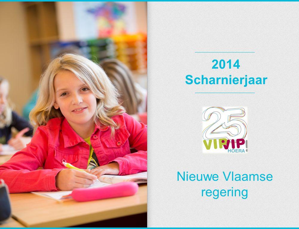 2014 Scharnierjaar Nieuwe Vlaamse regering