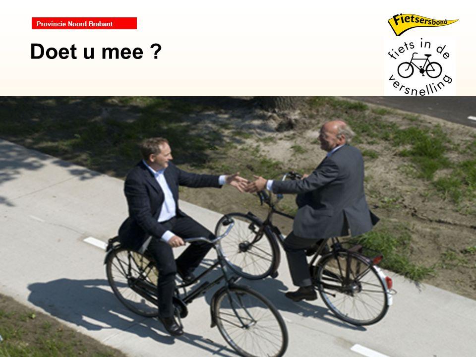 Provincie Noord-Brabant Doet u mee